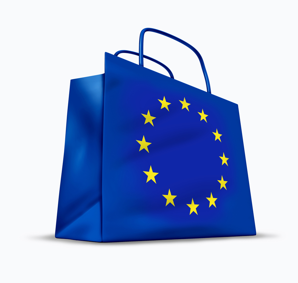Shop USA stores and ship to the Euopean Union