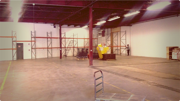 New warehouse 1/4